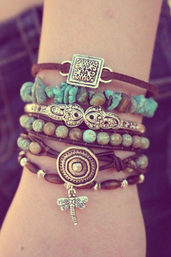 Yoga Stack Bracelets